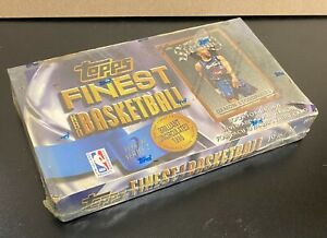 1996-97 Topps Finest Basketball Series 2 Factory Sealed Box Kobe Bryant RC Yr