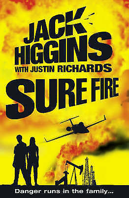 """""""AS NEW"""" Sure Fire (Chance Twins), Higgins, Jack, Book"""