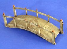 "Verlinden 1/35 Small Wooden Foot Bridge (5.5"" x 2"" inches) [Resin Diorama] 2671"