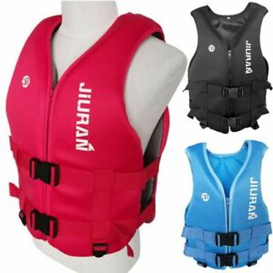 Adult Kids Life Jacket Swimming Fishing Floating Buoyancy Aid Vest S~XXL