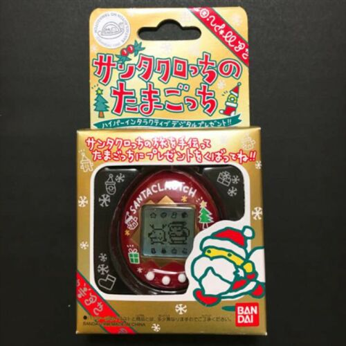 Tamagotchi Santa Claus Santaclautch Red Virtual Pet Game Toy 1998 BANDAI NEW