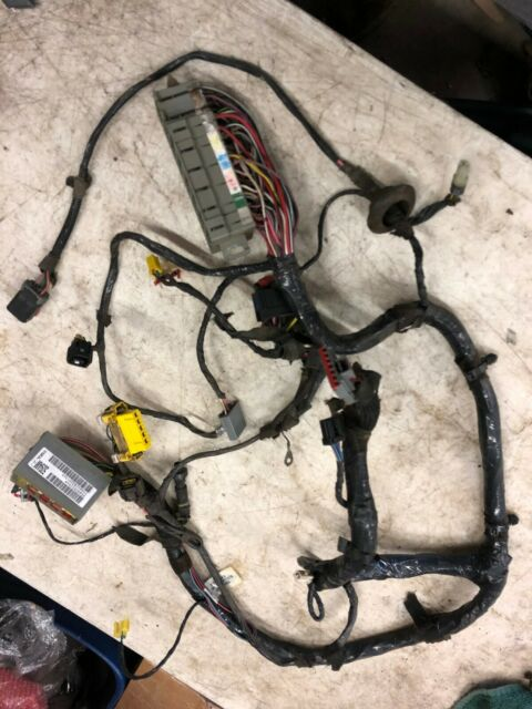 2001 Jeep Wrangler TJ Under Dash Fuse Box Wiring Harness ...