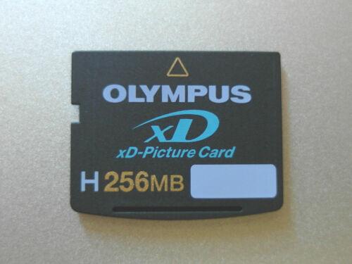 OLYMPUS Tarjeta XD Picture De Memoria Flash H 256 Mo Hola Velocidad FUJIFILM