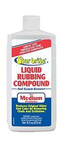 Star brite Liquid Rubbing Compound 16 oz. Oxidation & Scratch Remover - NEW