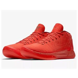 official photos 7d21b acff8 Image is loading NIKE-KOBE-AD-A-D-HABANERO-RED-034-MAMBA-