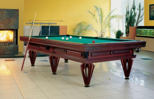 Billard Billard DIJON 9 ft Billardtisch Billiard Pool Poolbillard eigenes Design!
