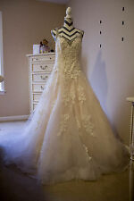 Mori Lee by Madilene Gardner Wedding Dress size 12 style 2811