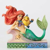 Disney Traditions The Little Mermaid Ariel With Flounder Fun And Friends Statue