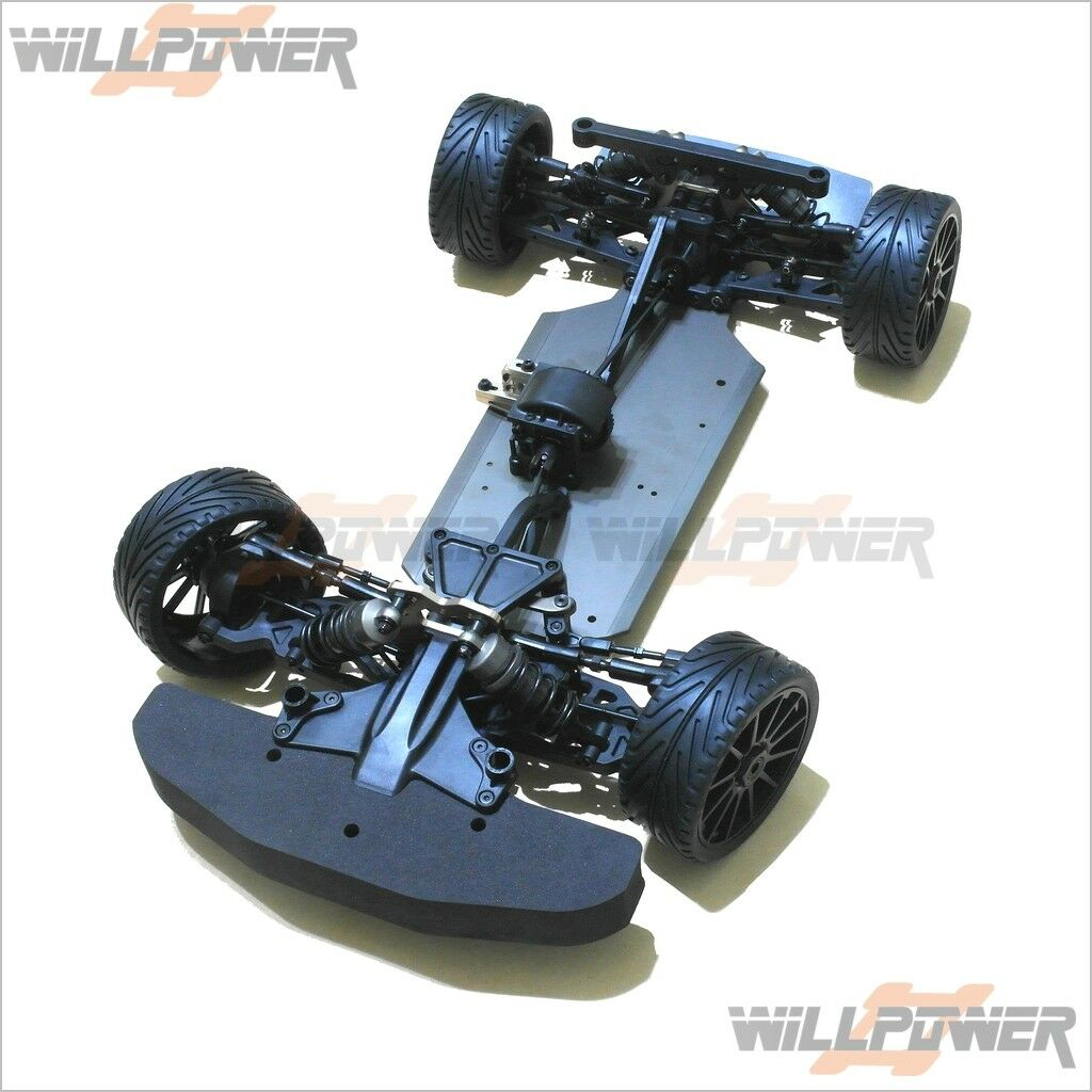 X3 GT Saden w/ Clear Body Shell  RC-WillPower  HongNor