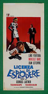 L47 Plakat Lizenz Von Explodieren Lino Ventura