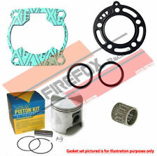 Kawasaki KX100 KX 100 1986 - 1987 Mitaka Top End Rebuild Kit Inc Piston & Gasket