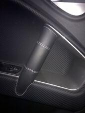 ALFA ROMEO MITO Cover in Vera Pelle Leather nera x maniglie interne Dx e Sx