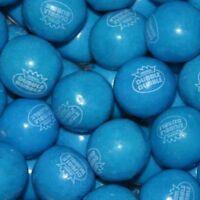 Dubble Bubble Blueberry Gumballs 1lb Approximately 55 Gum Balls Per Pound