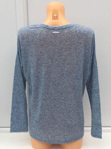 VICTORIA/'S SECRET VS Lounge//sommeil Top en bleu clair chiné tailles M /& XL BNWT