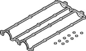 Capot pour joint de culasse Elring 389.070 culasse de cylindre Jeu joints étanchéité