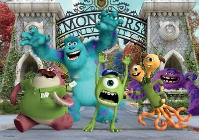 50 Piece Disney Mike & Sully Monsters University Inc. Jigsaw Puzzle 17350A