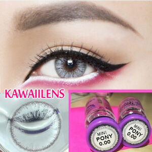 c84c2c41e647 Das Bild wird geladen Kontaktlinsen-Contact-Lenses-Color-Cosmetic-Eye-Lens- Mini-