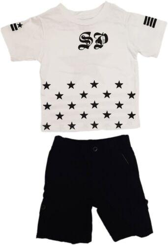 Street Property Star Imprimé Boys Short Set Tous âge Et Tailles