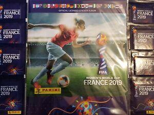 Album-de-edicion-USA-8-paquetes-Panini-Fifa-para-Mujer-Copa-del-Mundo-Francia-2019
