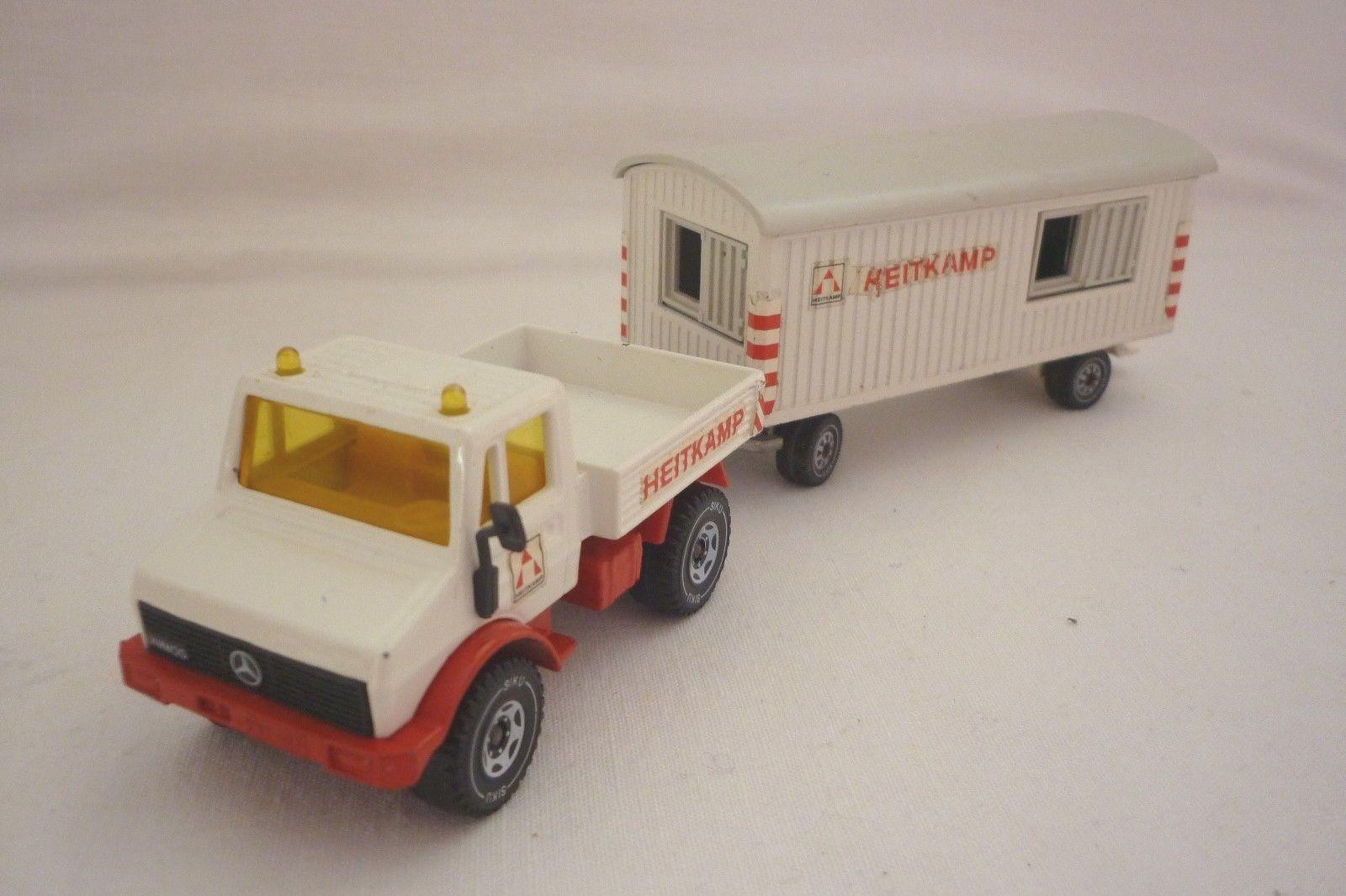 SIKU  modèle-UNIMOG U 1500 avec voiture - 2519 - (8.si-30)