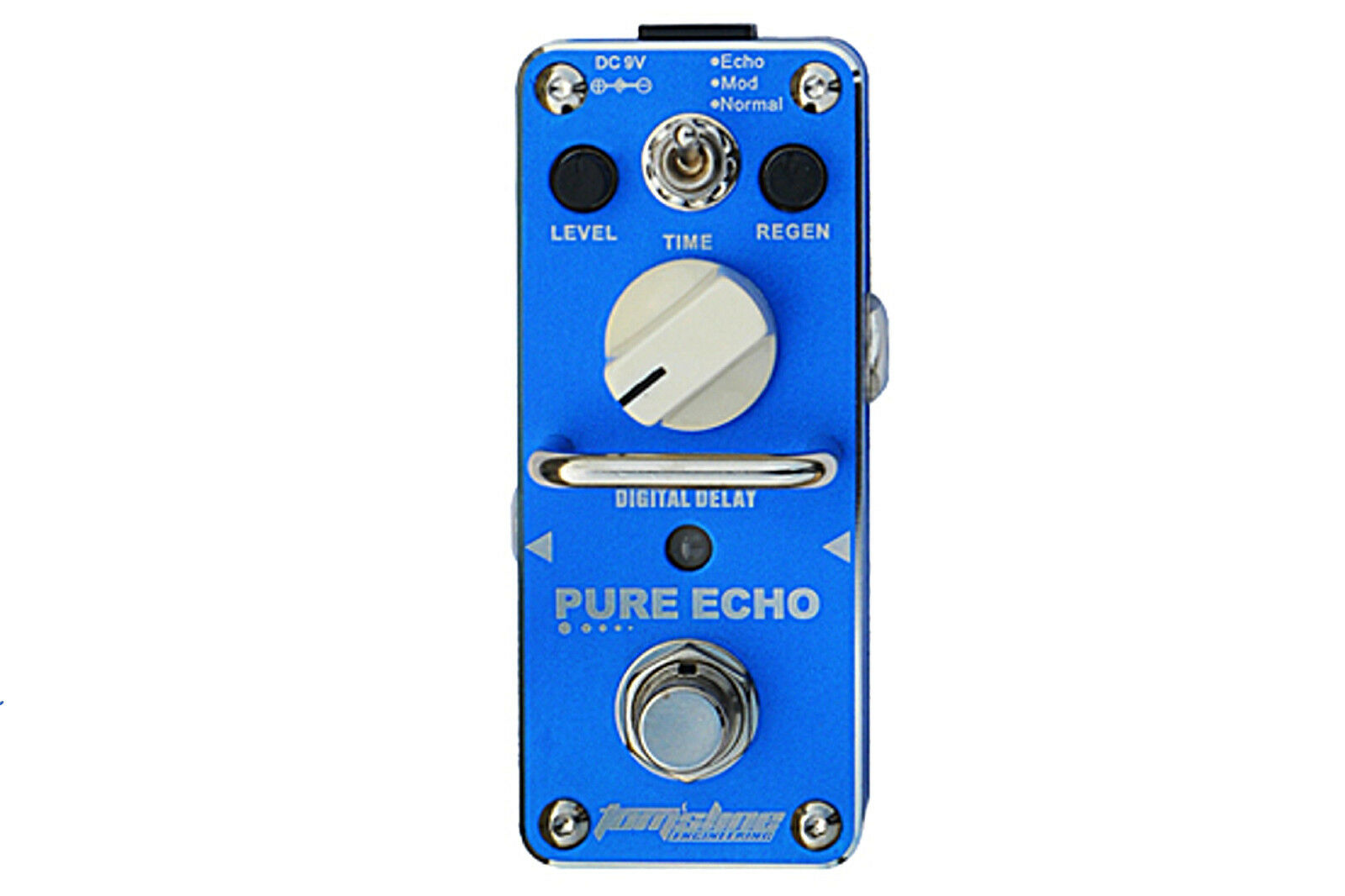 Tom's Line Engineering APE-3 PURE ECHO Digital Delay Guitar Effects Pedal