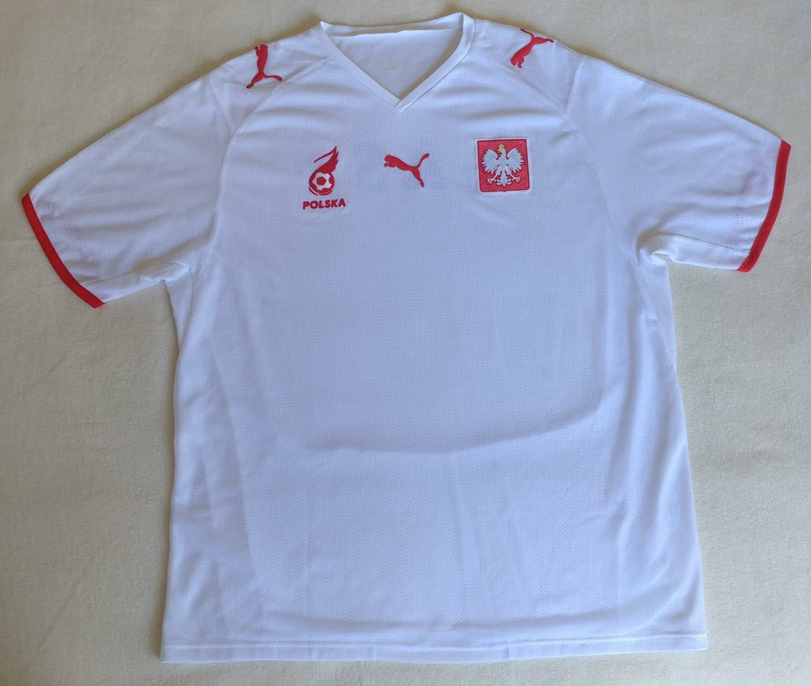 watch 916e7 e15c4 Poland National team 2007/2008 Home Football Jersey Puma Soccer Shirt Size  XL