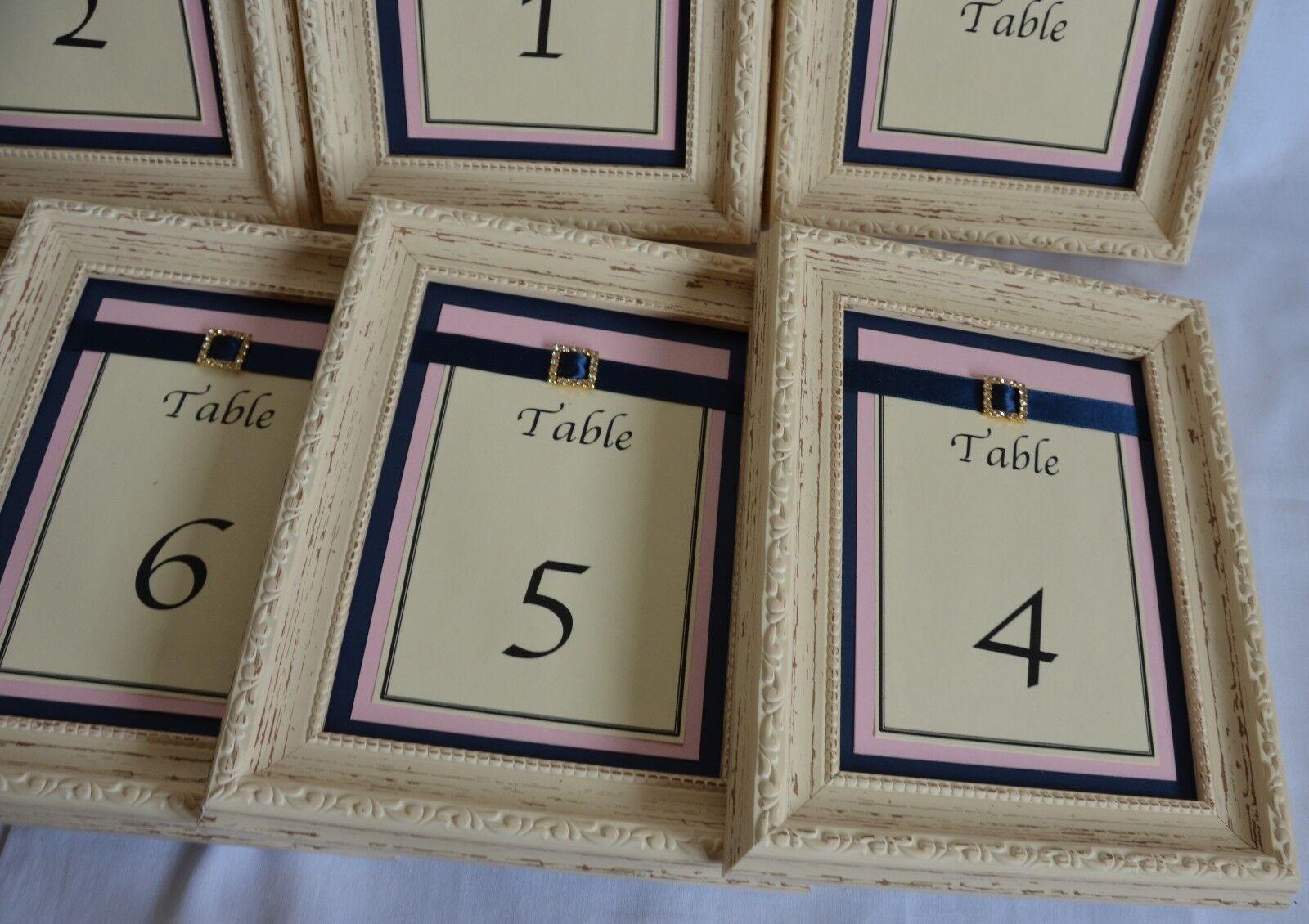 Festa di nozze centro tavola pezzi Rustico Esclusiva numeri numeri numeri su misura parte superiore della tabella 1 - 8 455651