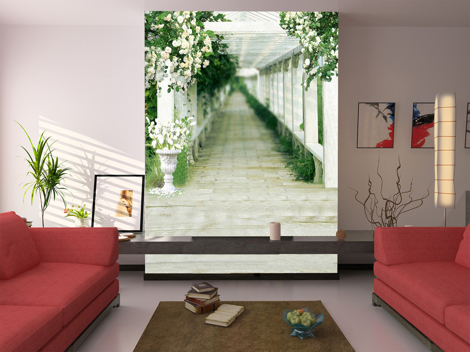 3D An der promenade 46747 Fototapeten Wandbild Fototapete BildTapete Familie DE