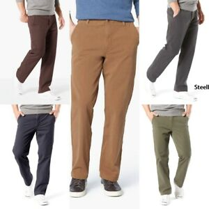 Mens-Dockers-Smart-360-FLEX-Straight-Fit-Downtime-Khaki-Pants-D2-Variety-Sizes
