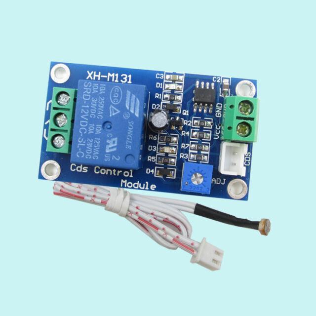 12V Car Light Control Switch Photoresistor Relay Module Detection Sensor  M&R