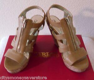 dd6ba3f38d52 NIB Carlos by Carlos Santana Kaila Womens Wedge Sandals 10 Natural ...
