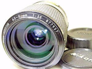 Nikon-zoom-Nikkor-43-86mm-f3-5-Lens-Ai-K-type-manual-focus-for-FE-FM-FM-cameras