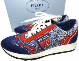 PRADA Women's Knit Running Sneakers