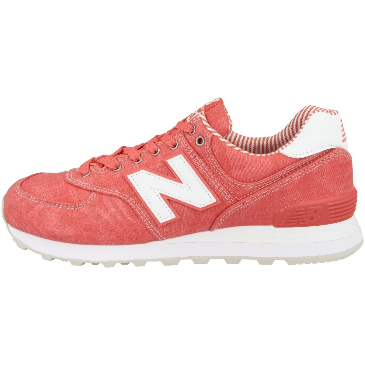 Zapatos promocionales para hombres y mujeres New Balance Wl 574 che Mujer Calzado de Ocio Zapatillas Coral Blanco WL574CHE
