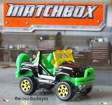 2013 Matchbox Loose Cliff Hanger Jungle Tours Black Green 795 Combine Shipping