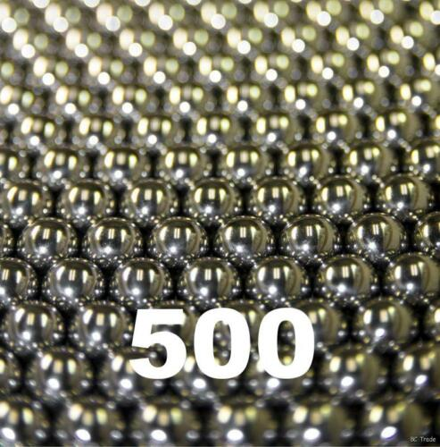 "500 1//8/"" Inch G25 Precision 440 Stainless Steel Bearing Balls"