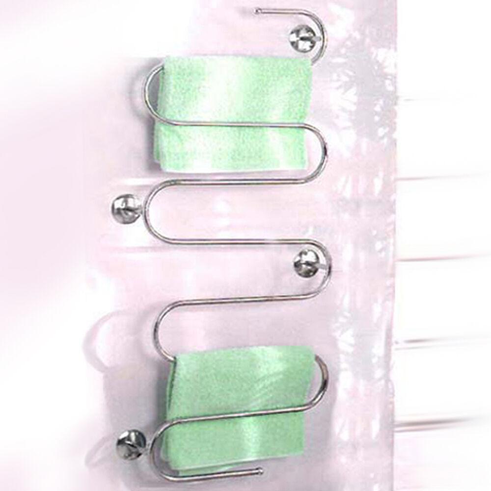 Schlangen und Leitern - Wandmontage Badezimmer Handtuchhalter - Silber CHF028 | Sale Online