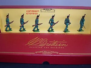 Britains 00128 Kings Royal Rifle Corps Regiment Jouet En Métal Soldat Figure Set 502421012872
