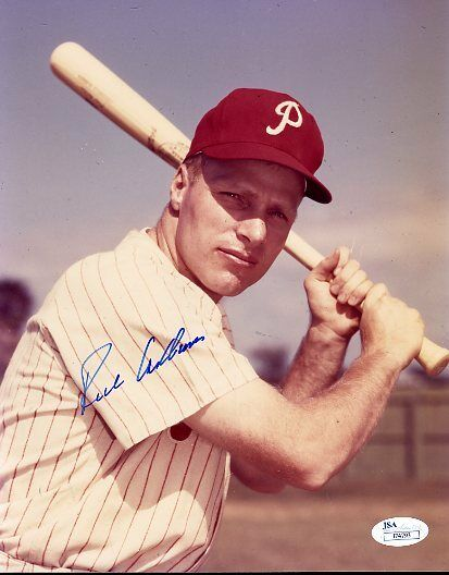 Richie Ashburn Signed Jsa Certed 8x10 Photo Authentic Autograph