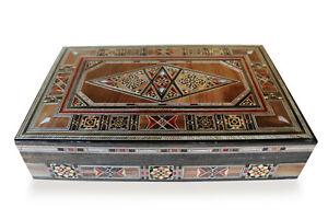 New-Jewellery-Box-Box-Wooden-Box-cm-Gift-Box-Storage-Damaskunst-K2-3-49