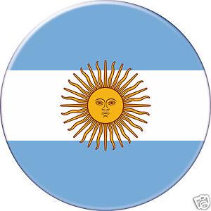 Dos Plat à Coller Look Pin's Mini Badge -argentine-argentina DernièRe Technologie