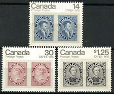 Canada 1978 SG#914-6 Capex Stamp Exhibition MNH Set #D6557