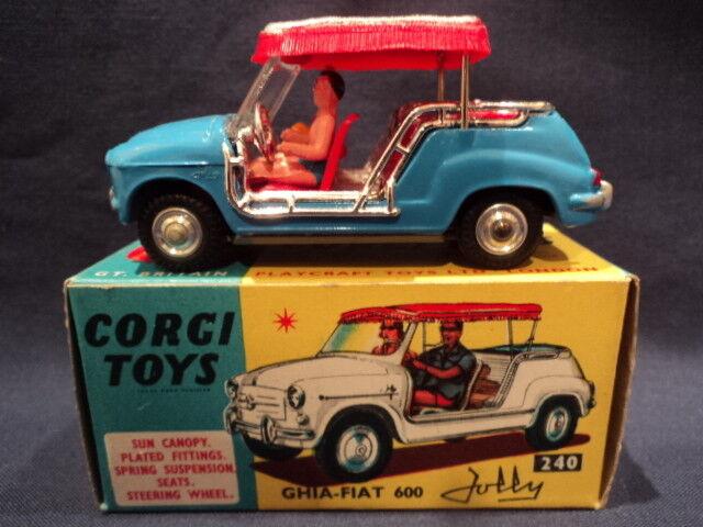 CORGI RARO anni 1960 FIAT Jolly NO  240 Nuovo di zecca EX NEGOZIO STOCK