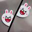 2-Funny-Cartoon-Bear-Animal-Car-Sticker-Anti-Collision-Door-Guard-Rub-Protector miniature 12