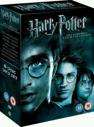 Harry Potter 1-8 Movie Complete Collection Films Box Set Fast Free Delivery