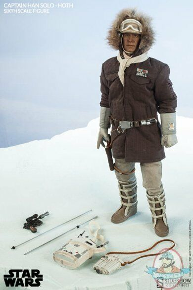 1/6 Sixth Scale Star Wars Captain Han Solo Hoth by Sideshow Collectibles