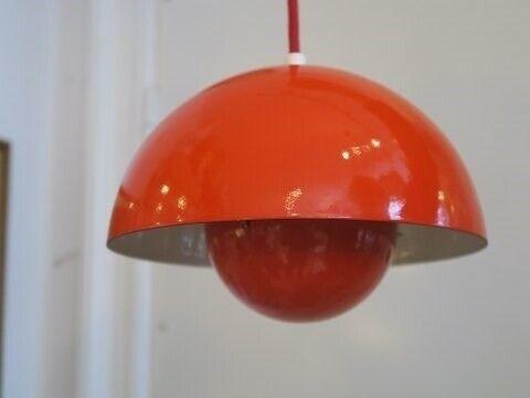 Anden arkitekt, Verner Panton  Gamle Flowerpot lamper,