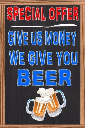 Beach Bar Open Plate Retro Metal Tin Signs Beer Poster Pub Bar Art Wall Decor