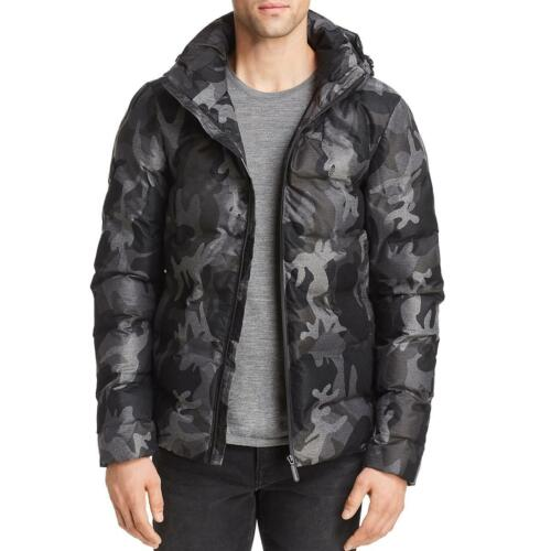 Superdry Mens Echo Black Winter Quilted Puffer Jacket Outerwear XXL BHFO 5125