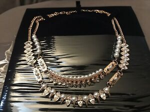 Détails sur Swarovski Cygne signé Gangster Crystal/Collier de perles  5252008- afficher le titre d'origine